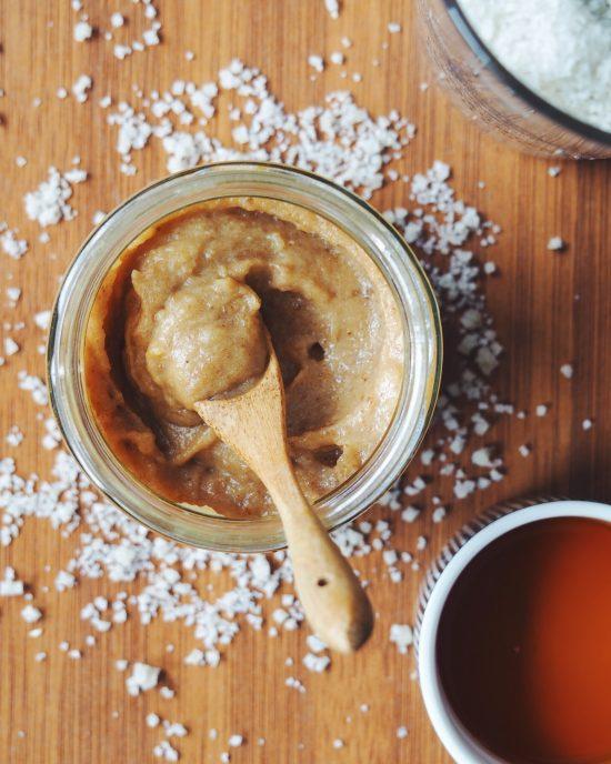 caramel végétal façon beurre salé